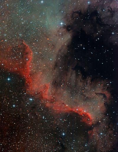 ngc7000 160902 - астрофотография