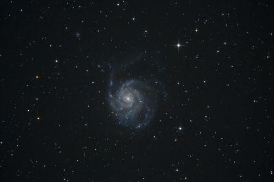Pinwheel Galaxy - M101 - астрофотография