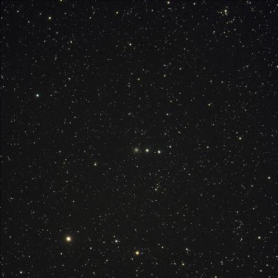 NGC 2419 - шаровик в Рыси - астрофотография