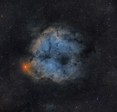 Туманность Хобот Слона (IC 1396A) - астрофотография