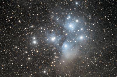 M45 Pleiades v.2 - астрофотография