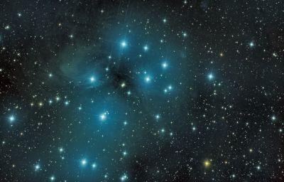 M45 v2 - астрофотография