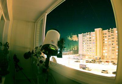 Снимаем М1 - астрофотография