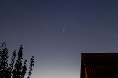 C2020 F3 (NEOWISE)  17.07.2020 - астрофотография