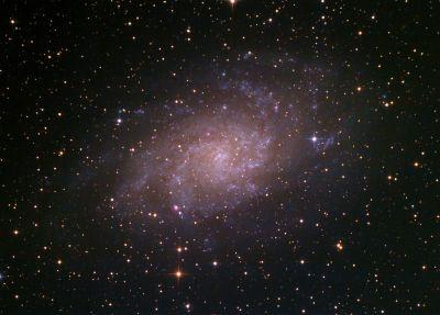M33 ver.2 - астрофотография
