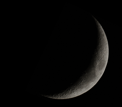 Moon (one frame) - астрофотография