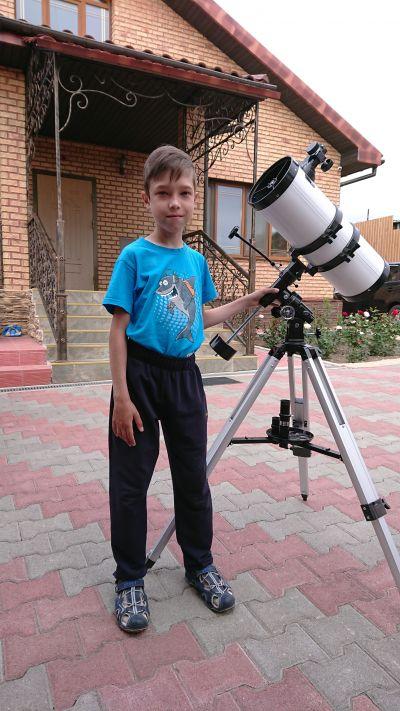 Моя летняя обсерватория.  - астрофотография