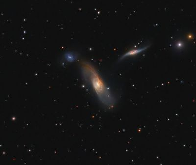 Arp 286 (KTG 54) - астрофотография