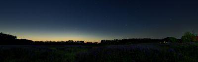 В летнюю ночь - астрофотография