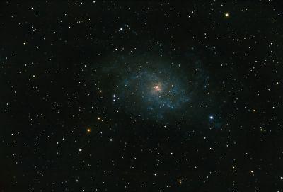 M33 - Галактика Треугольника 08.11.2020 - астрофотография