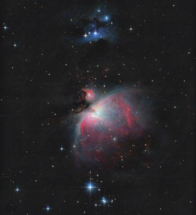 Orion Nebula - M42, M43, NGC1977 - астрофотография