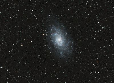 Triangulum Galaxy, M33, NGC 598 - астрофотография