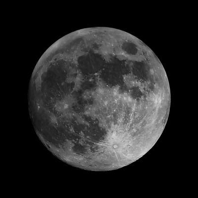 Луна - астрофотография