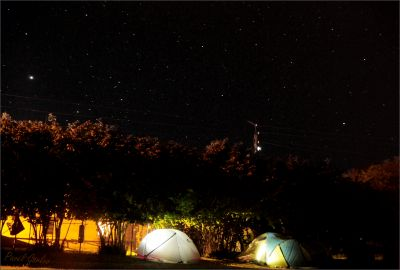 Палатки СтарФеста под звёздным небом Абхазии, часть вторая. - астрофотография