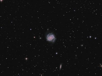 M 100 LRGB  - астрофотография