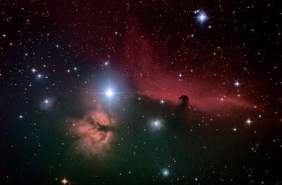 Конская голова Орион - астрофотография
