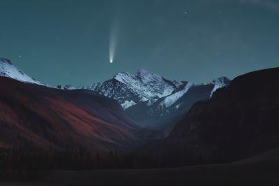 Комета C/2020 F3 NEOWISE  - астрофотография