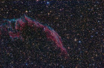 NGC 6995 - астрофотография