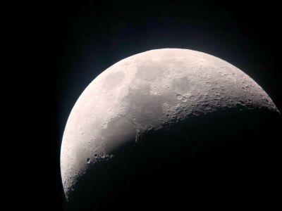 Луна на смартфон - астрофотография