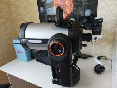 "Celestron NexStar Evolution 9.25"" - астрофотография"