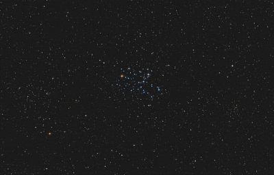 Butterfly Cluster M6 - астрофотография