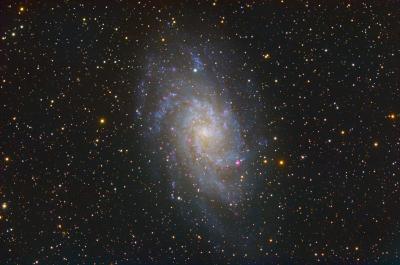 Галактика М33 (M33 Galaxy) - астрофотография