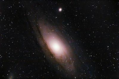 Туманность Андромеды 18.08.20 - астрофотография