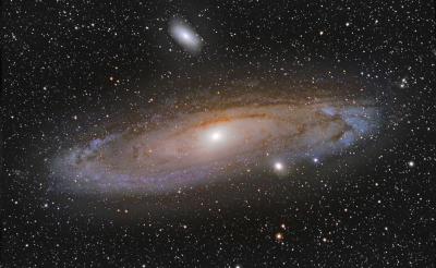М31, Туманность Андромеды - астрофотография