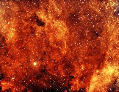 B344 Cygnus - астрофотография