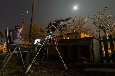 Съёмка Луны 28.10.2020г. - астрофотография