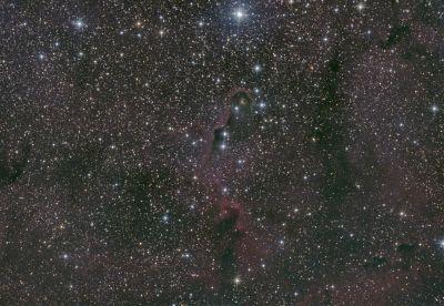 ic 1396a Хобот слона - астрофотография