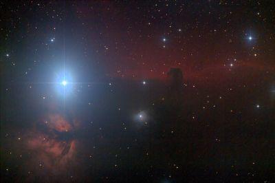 IC 434 - Конская голова - астрофотография