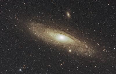 M31, M32, M110 - астрофотография