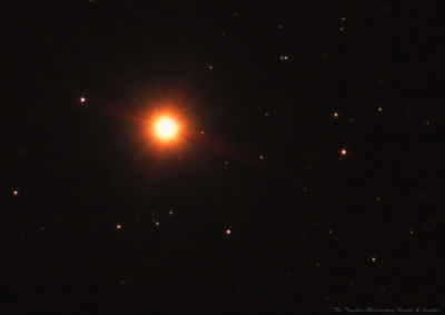 α Ori (Betelgeuse) at its historic low brightness. - астрофотография