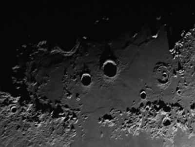 Moon landscape - астрофотография