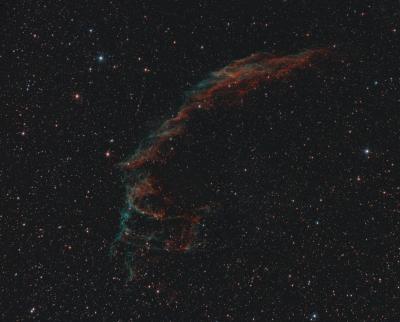 """NGC 6992 """" ВУАЛЬ"""" - астрофотография"""