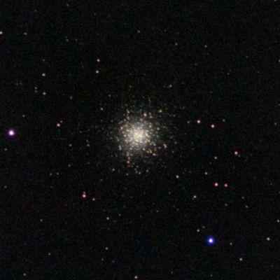 Шаровик в Геркулесе кроп - астрофотография