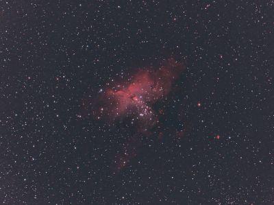 M16 - Eagle Nebula - астрофотография