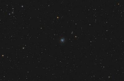 Galaxy M61 & SuperNova  - астрофотография