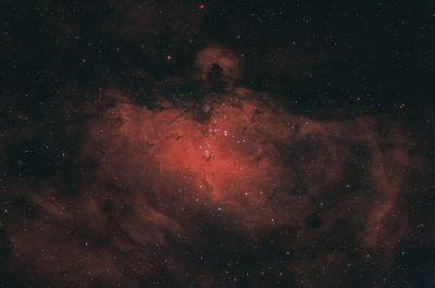 M16 RGB+Ha версия 2 - астрофотография