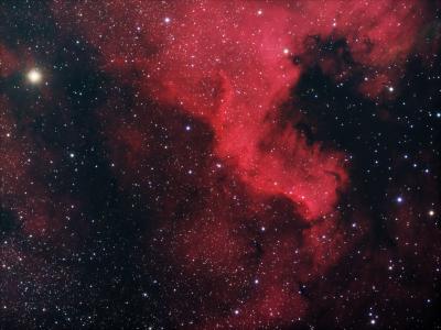 NGC 7000 HaRGB - астрофотография