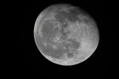 Луна 21.08.16г 0ч 12м местного - астрофотография