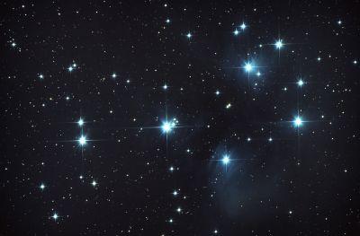 M 45 - Pleyades  - астрофотография