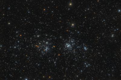 Двойное скопление x&h - астрофотография