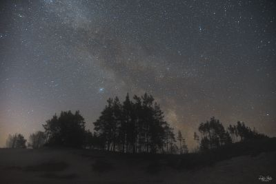 Milky Way 30 min before sunrise - астрофотография