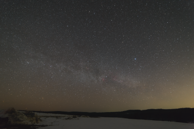 North direction sky on Zeledeevo ring - астрофотография