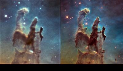 Столпы Творения, или что можно снять на 102 мм рефрактор - астрофотография