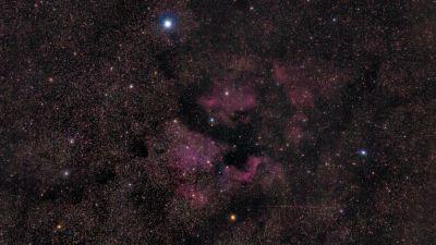 North America Nebula v3 - астрофотография