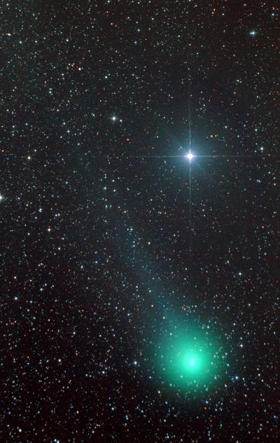 Комета C/2014 Q2 Lovejoy и Рукбах 150314 - астрофотография