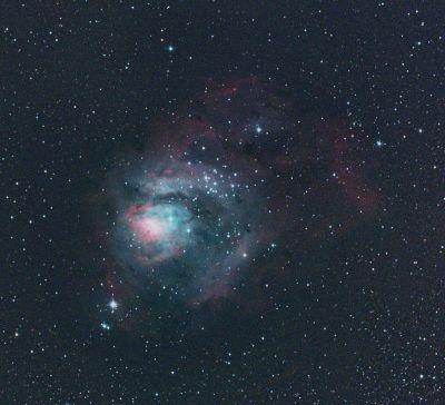 M8 - The Lagoon Nebula - астрофотография